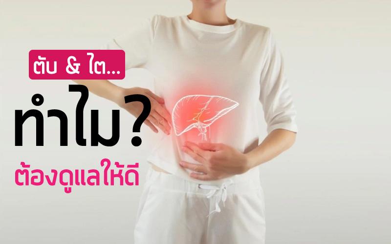 การตรวจสุขภาพ ตับ & ไต…ทำไม? ต้องดูแลให้ดี