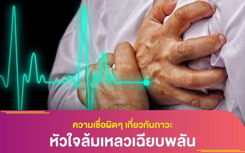 """โรคทั่วไป : ความเชื่อผิดๆ เกี่ยวกับภาวะ """"หัวใจล้มเหลวเฉียบพลัน"""""""